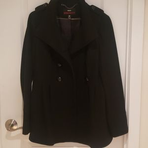 NWOT Stylish Military Coat With Buttons Details